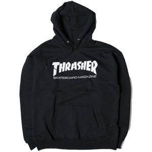 Thrasher Skateboard Magazine Black Hoodie